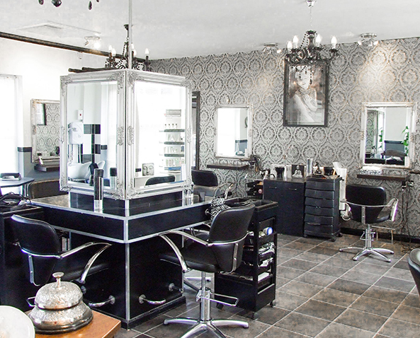 3D Hair & Beauty Interior